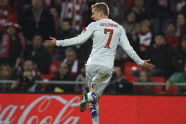 Griezmann y las circunstancias remontan y golean al Athletic