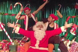 Papá Noel y sus duendes salvan la Navidad