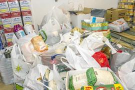 Cáritas recoge en Vila más de 5.000 kilos de comida durante su campaña de Navidad