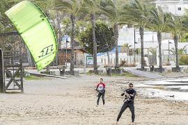 El viento obliga a cancelar la conexión marítima entre Eivissa y Formentera