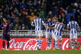 Por cuarto año consecutivo, el Barça cae en Anoeta