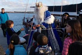 Los Reyes Magos llegan a Formentera