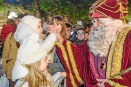 Sus majestades triunfan en Eivissa