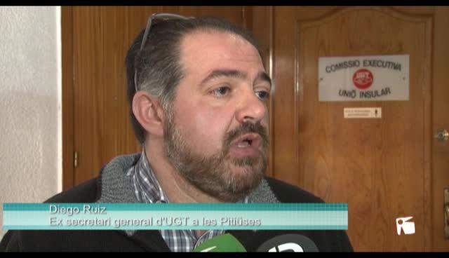 VÍDEO: Diego Ruiz renuncia a la secretaria general de UGT por discrepancias con la organización