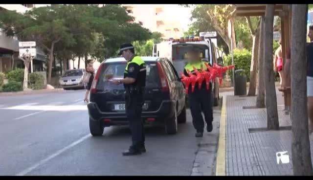 VÍDEO: Palmer dice que el nivel 3 de seguridad antiterrorista se está aplicando en las Pitiüses