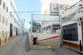 Gutiérrez acusa a Es Nàutic de forzar  el cierre del párking de la plaza España