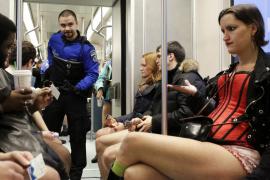 El día sin pantalones en el metro