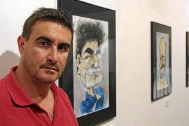 Toni Bibiloni: «En el fondo a todos los políticos les gusta ser dibujados»