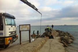 Costas autoriza el acondicionamiento del muelle situado en ses Figueretes