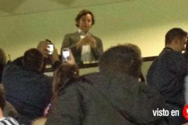 El 'pequeño Nicolás' se deja ver en el palco del Santiago Bernabéu