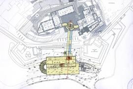 Paralizan el proyecto del parking del Parador hasta que no se garantice la estabilidad de la muralla