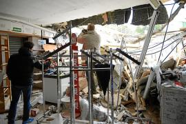 Derrumbe en Santa Ponça