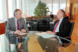 Vicent Serra solicita a Roger Sales aumentar la presencia de la Guardia Civil en Platja d'en Bossa