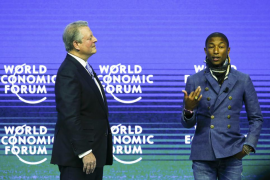 Pharrell Williams avisa de la gravedad del calentamiento global