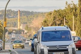 Vicent Marí confía en que la reforma de la carretera de Santa Eulària empiece este año