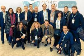 Marí pone como ejemplo de buena gestión a Santa Eulària en la convención de Madrid