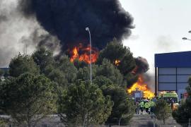 Aumentan a diez las víctimas del accidente de un F-16 griego en Albacete