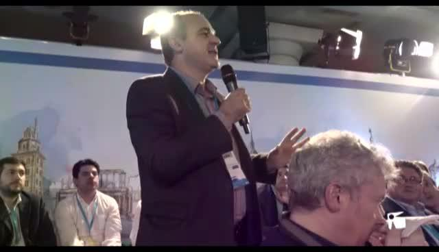 VÍDEO: Marí pone como ejemplo de buena gestión a Santa Eulària en la convención de Madrid