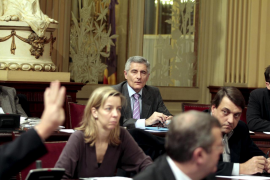 Vicens en el Parlament