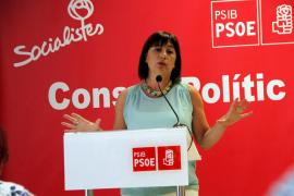 Armengol insta a los ciudadanos a votar en internet el programa del PSIB