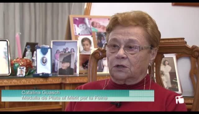 VÍDEO: Catalina Guasch Ferrer recibe en Madrid la Medalla de Plata al Mérito en el Trabajo