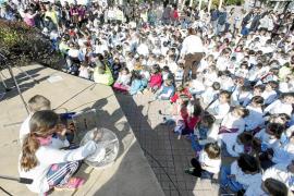 Los escolares quieren paz y no violencia