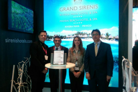 Sirenis logra el certificado de calidad por sus hoteles de Ibiza