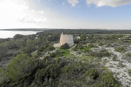 El Consell de Formentera reforma la Torre des Pi des Català para abrirla al público