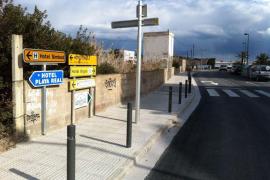 Eivissa invierte 112 mil euros en mejorar calles de Talamanca y Ses Figueres