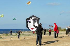 Arte en el cielo 'portmanyí'