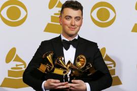 Sam Smith llena de sensibilidad los Grammy con sus cuatro premios