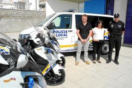 Los nuevos coches patrulla de Sant Antoni entrarán en funcionamiento este mes