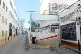 Las obras del parking subterráneo de la plaza España estarán acabadas en un mes
