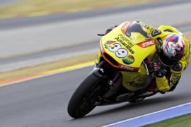El joven Quartararo y Zarco dominan en Moto3 y Moto2 en los entrenamientos de pretemporada en Cheste