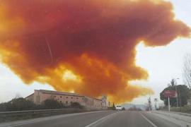 Retiran los productos que causaron la nube tóxica en Igualada y desactivan la alerta