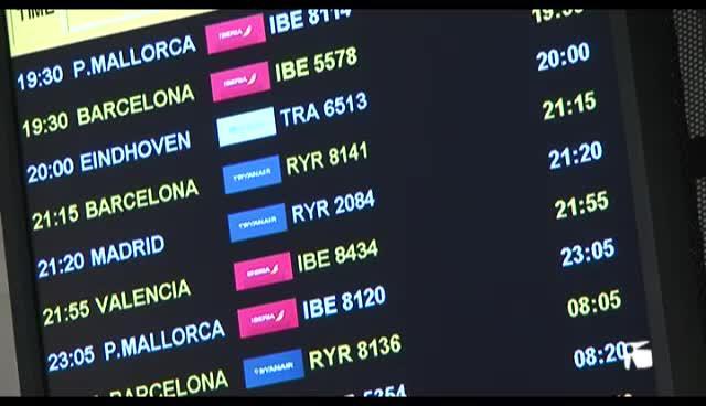 VÍDEO: El aeropuerto de Eivissa batió récords en enero por décimo mes consecutivo