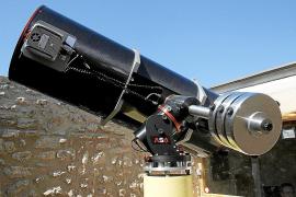 El telescopio de Cala d'Hort descubrió 81 nuevos asteroides el año pasado