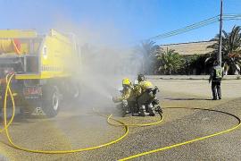 El Ibanat imparte un curso sobre seguridad en incendios forestales