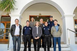 Cinco nuevos policías locales para Sant Josep