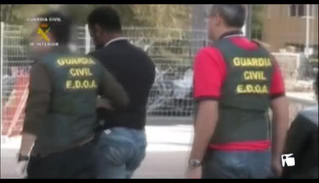 VÍDEO: La Guardia Civil  tiene tres agentes para combatir el narcotráfico y el crimen organizado en las Pitiüses