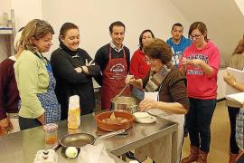 Éxito de participación en el curso de Cuina Pagesa