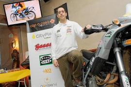 Rodríguez, en el nacional de Rally TT
