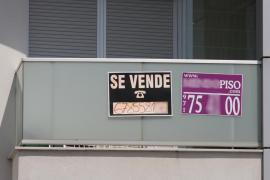 Aumenta un 5,6 por ciento anual el número de hipotecas sobre viviendas en Balears