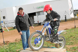 La cooperativa de Sant Antoni, cuna del motocross insular