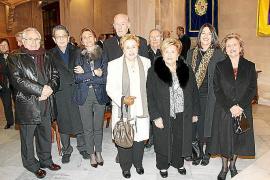 Cristina Ros, en la Reial Acadèmia de Sant Sebastià