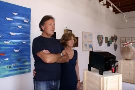 Formentera acoge el maridaje artístico y personal de Cané y Piersimoni