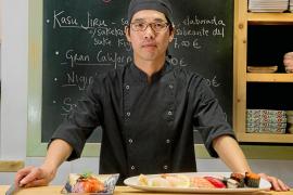 Hideki Aoyama fusionará el sushi con el pescado tradicional ibicenco