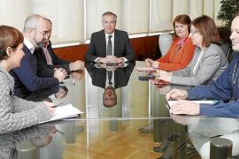 El Consell defiende que la línea aérea prevista en es Fornàs sea soterrada