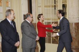 Duran y Bauzá en el Parlament