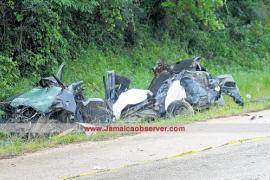 Accidente en Jamaica